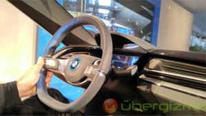 Connected car demo CES 2016