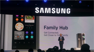 Samsung smart fridge CES 2016